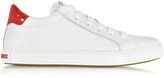 DSQUARED2 Tennis Club White Leather Sneaker