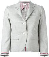 Thom Browne two button blazer - women - Silk/Wool - 40