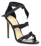 Alexandre Birman Lolita Bow Leather Sandals