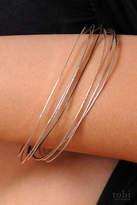 Circadian Studios Set of Silver Bangle Bracelets