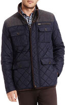 Vince Camuto Quilted Zipper Jacket