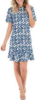Mud Pie Navy Ikat Dress
