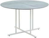 Houseology Gloster Whirl Round Dining Table 120 cm - Ceramic - White