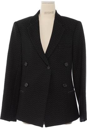 Celine Black Cotton Jacket for Women