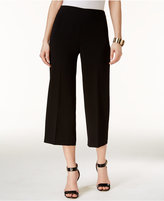 CeCe Cropped Wide-Leg Trousers