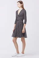 Diane von Furstenberg New Irina Combo Wrap Dress