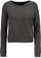 Alice + Olivia Cropped Wool And Cashmere-Blend Sweater