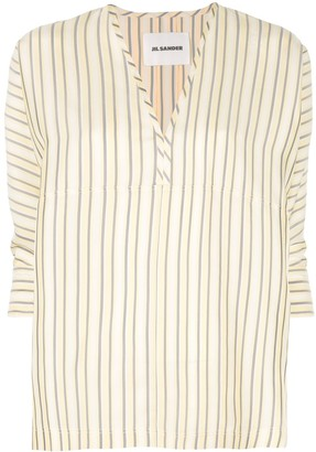 Jil Sander Striped Blouse