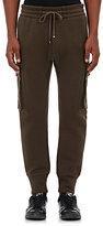 Helmut Lang Men's Cotton-Blend Jogger Pants-GREEN