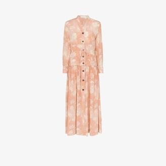 Chloé Floral Silk Maxi Dress