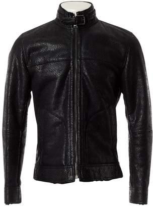 Dolce & Gabbana Black Shearling Jackets