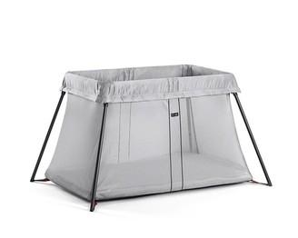 BABYBJÖRN Play Yard Light Travel Crib, Silver