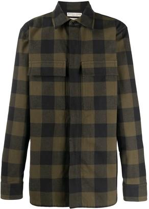 Bottega Veneta Checked Shirt