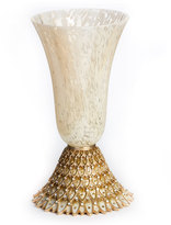 Jay Strongwater Feather Vase