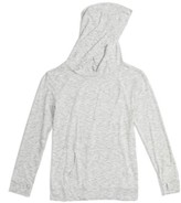 Zella Girl's Drapey Pullover Hoodie