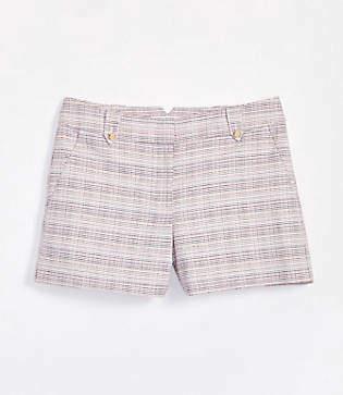 LOFT Petite Button Tab Riviera Shorts with 3 1/2 Inch Inseam