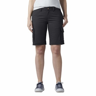 """Dickies Women's 11"""" Relaxed Stretch Cargo Shorts"""