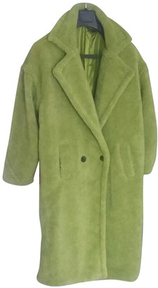 Asos Green Wool Coat for Women