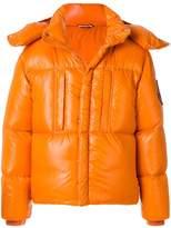 Moncler glossy padded jacket