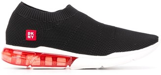 DKNY Knit Slip-On Trainer