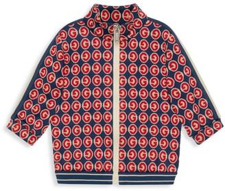 Gucci Baby's & Little Boy's BB Zip Sweater