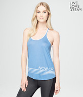 LLD Now Or Never Racerback Tank