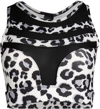 Electric Yoga High Impact Leopard Sports Bra