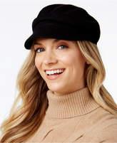 August Hats Solid Melton Newsboy Cap