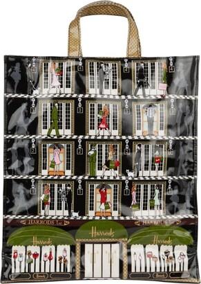 Harrods Large Elevators Shopper Bag