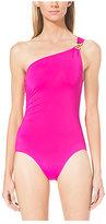 Michael Kors One-Shoulder Swimsuit
