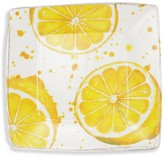 Vietri Melamine Fruit Lemon Square Platter