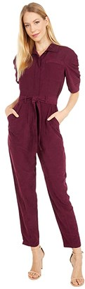 Joie Neal Jumpsuit (Deep Wine) Women's Jumpsuit & Rompers One Piece