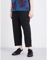 Oamc Cropped Utility Stretch-wool Trousers