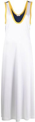 Marni Two-Tone Flared Dress