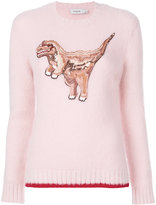 Coach sequinned Rexy crewneck jumper