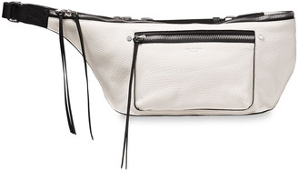 Rag & Bone Pebbled-leather Belt Bag