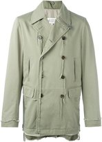 Maison Margiela distressed double breasted jacket - men - Cotton/Polyester - 48
