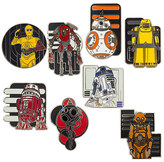 Disney Star Wars: The Force Awakens Droid Mystery Pin Set