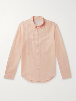 Rag & Bone Tomlin Slim-Fit Button-Down Collar Linen, Cotton And Lyocell-Blend Shirt