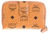 MCM Visetos Continental Wallet