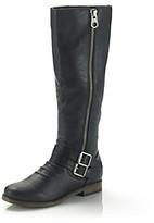 "Rampage Irina"" Mid-Heel Riding Boot"