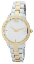 Kenzo Women's O Two-Tone Bracelet Watch
