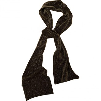 Gucci Gold Polyester Scarves