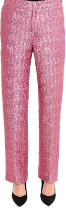 Pt01 Sequin Embellished Trousers