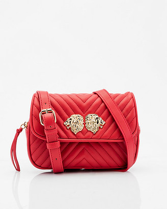 Le Château Quilted Faux Leather Crossbody Bag