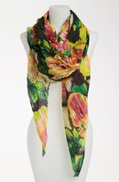 Betsey Johnson 'Gypsy Rose' Pleated Scarf