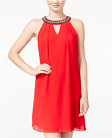 Amy Byer Juniors' Embellished Shift Dress, A Macy's Exclusive