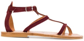K. Jacques Antioche T-bar sandals