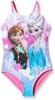 Disney Girl's Frozen Swimsuit