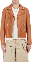 Loewe Men's Leather Moto Jacket